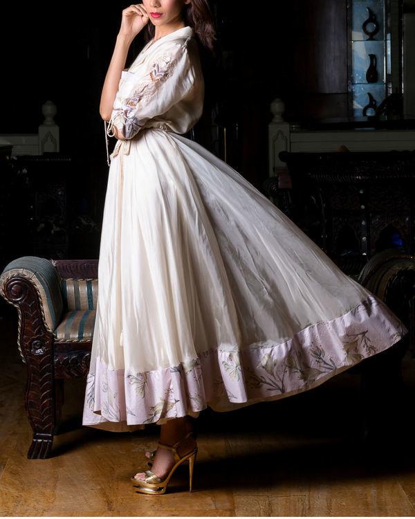 Ivory shirt dress 2