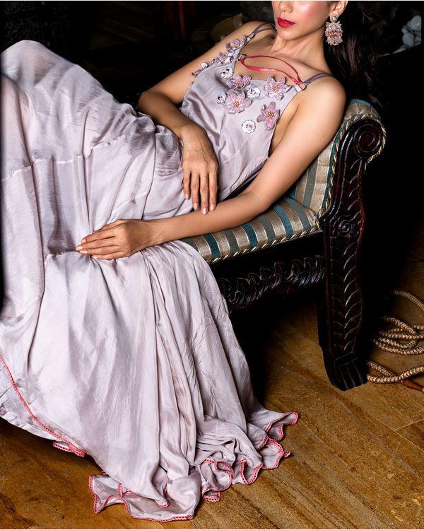 Lavender strappy dress 2