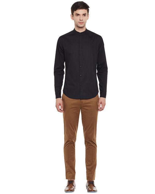 Slick black shirt 3