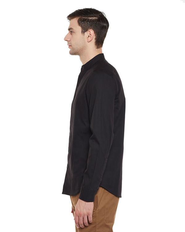 Slick black shirt 2