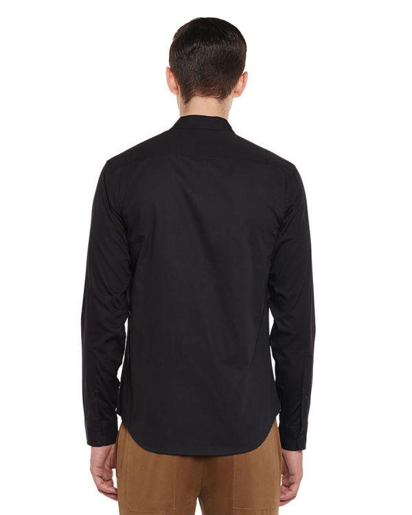 Slick black shirt 1