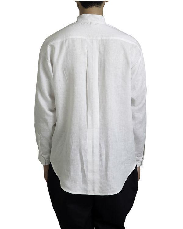 White linen tunic shirt 2