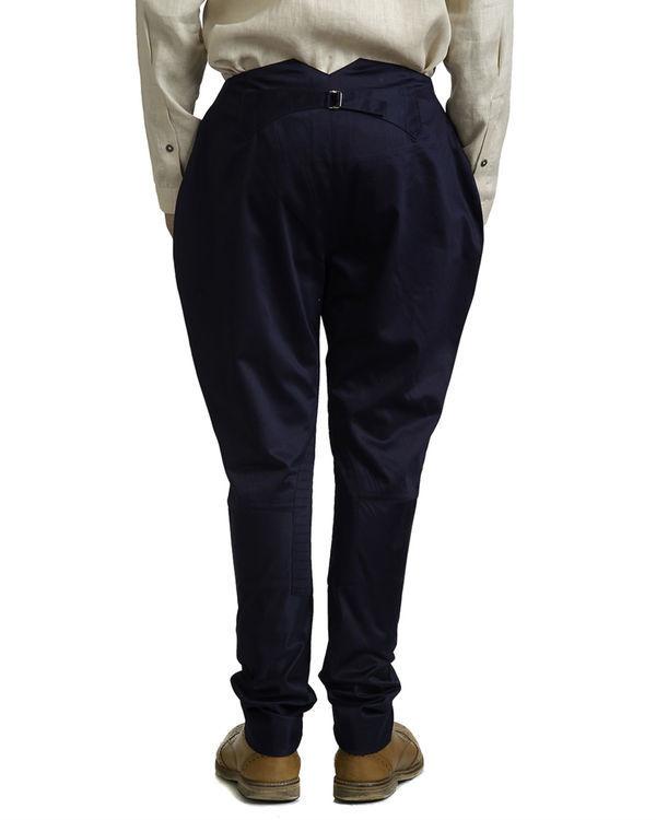 Navy blue jodhpur trousers 2