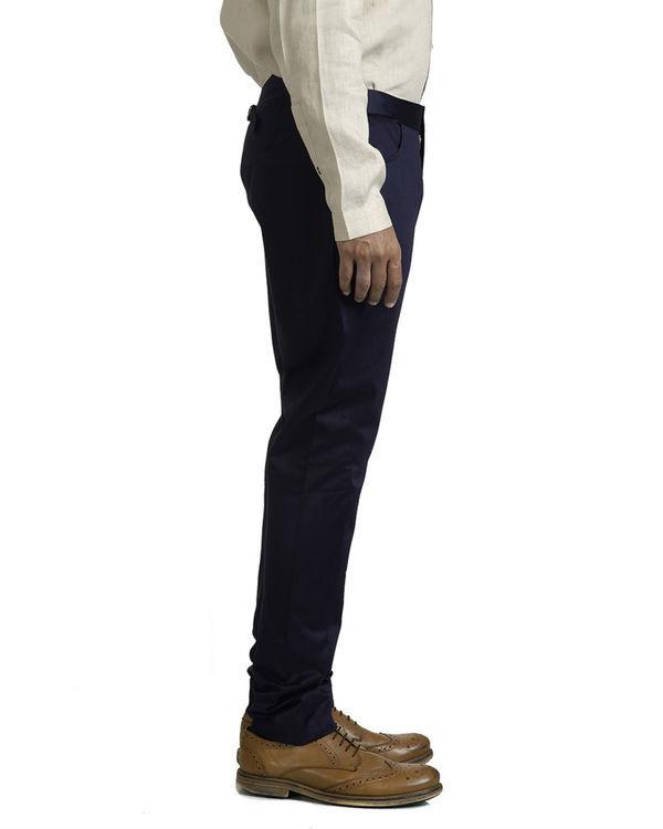 Navy blue jodhpur trousers 1