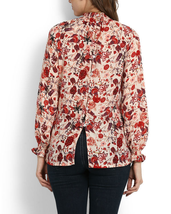 Lokum rose printed top 3