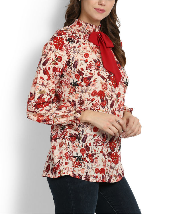 Lokum rose printed top 1