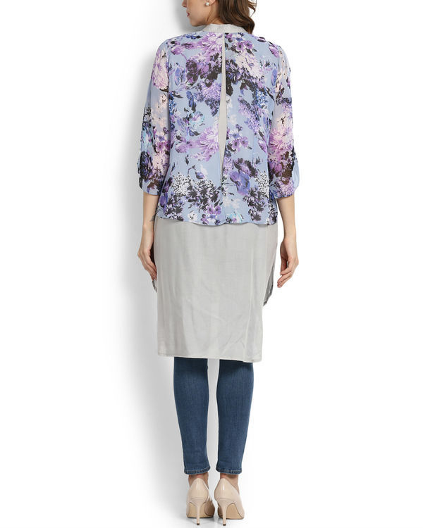 Lilac layered tunic 3