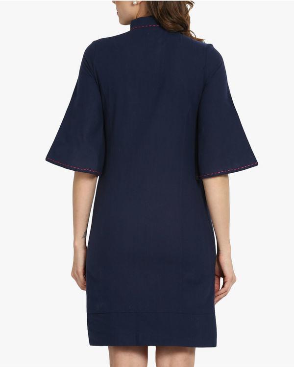 Oriental khadi dress 2