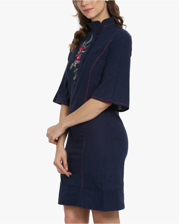 Oriental khadi dress 1