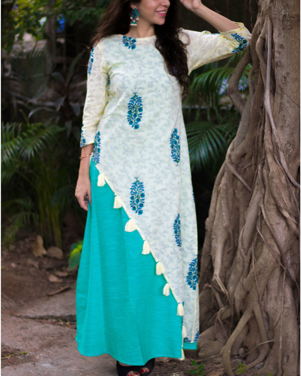 Tasselled Layer Maxi Dress 2