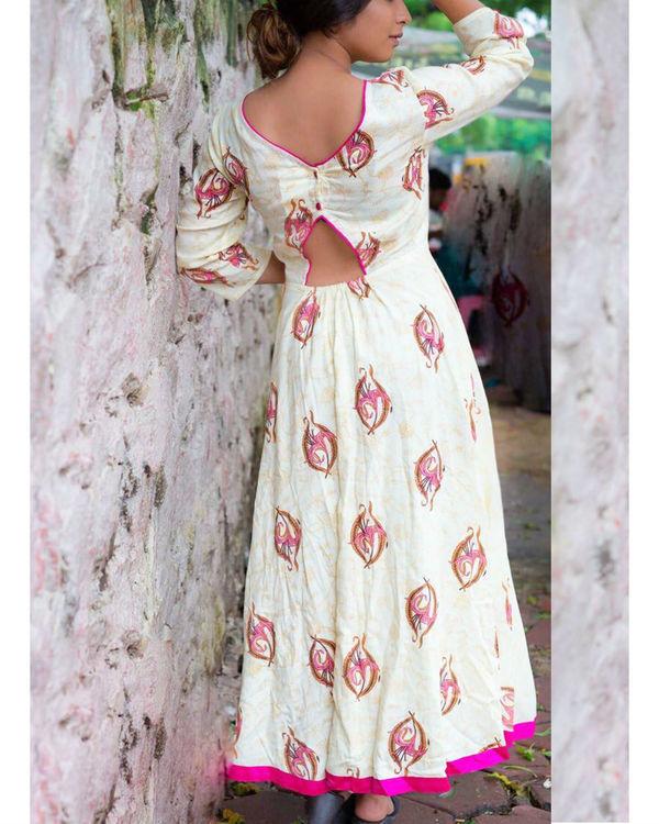 Pink Lily Maxi Dress 1