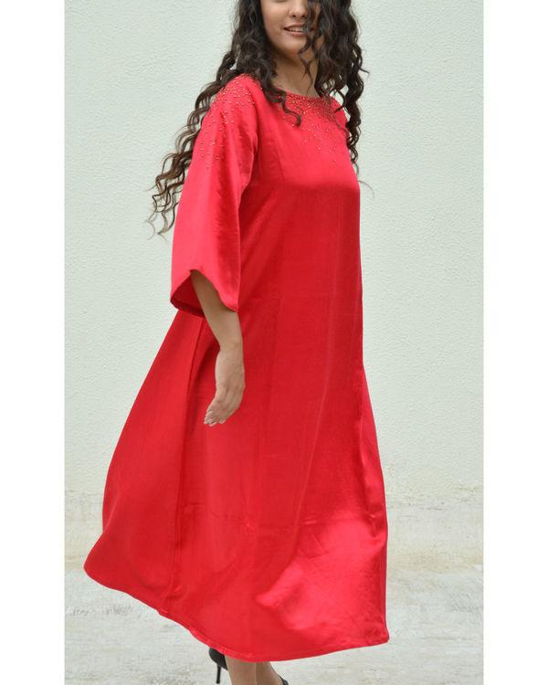 Red Dana A-line Dress 2