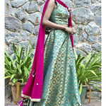 Thumb girija brocade lehenga set 2