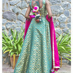 Thumb girija brocade lehenga set 4