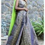 Thumb nilay brocade lehenga set 3