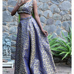 Thumb nilay brocade lehenga set 2