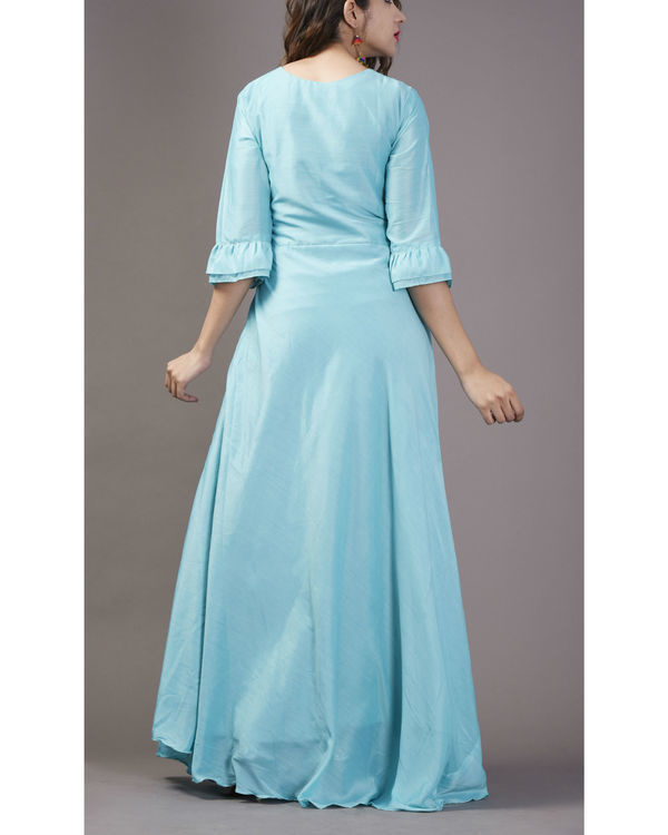 Arctic bell flared gown 1