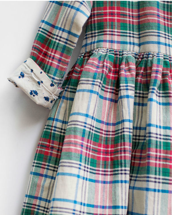Christmas checks dress jacket 2