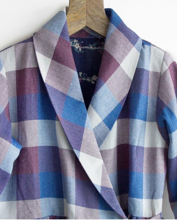 Winter checks dress jacket 3