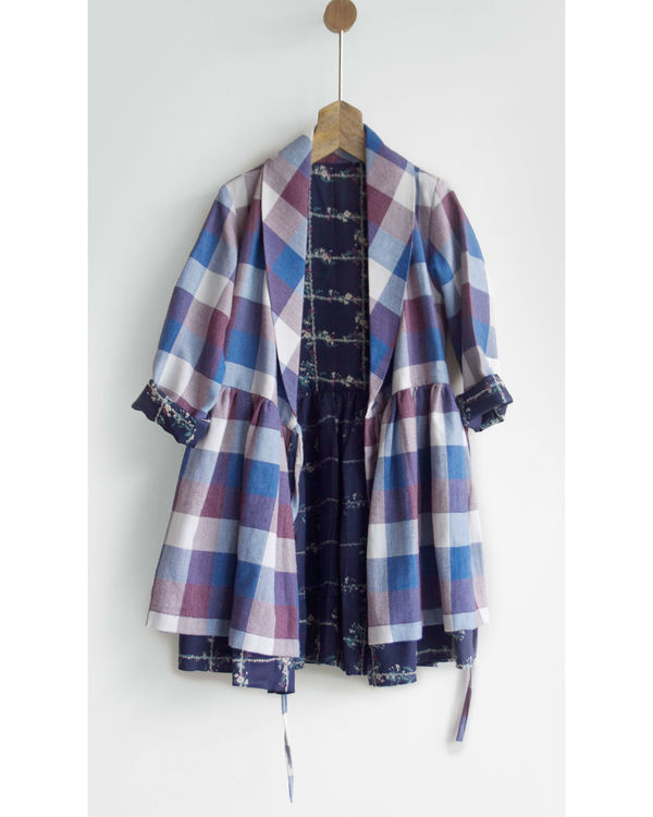 Winter checks dress jacket 2
