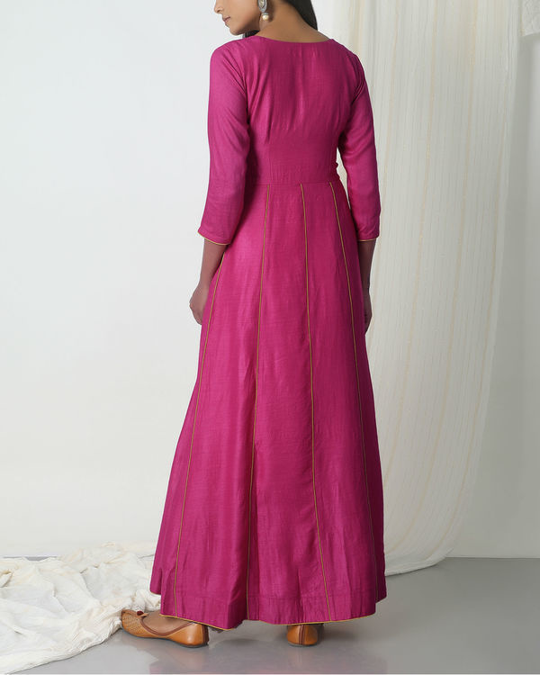 Pink angrakha dress 2