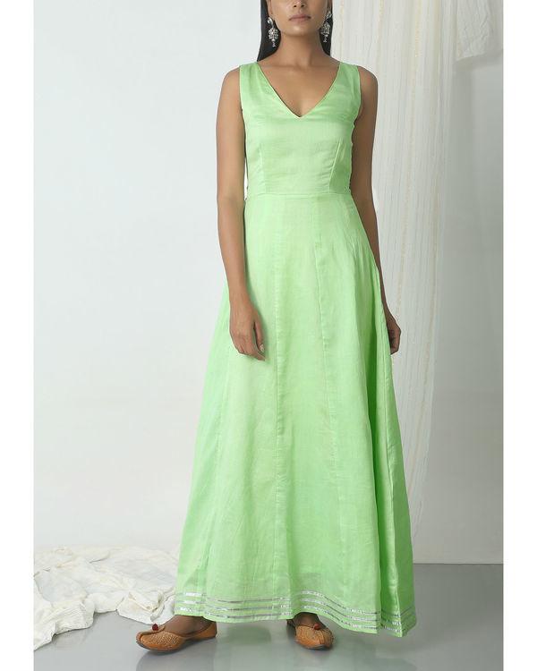 Mint green gota dress 3