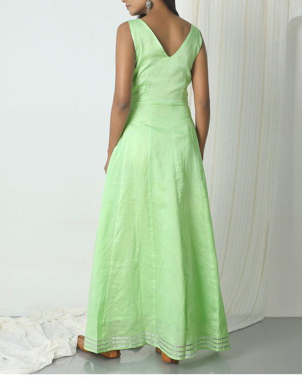 Mint green gota dress 1