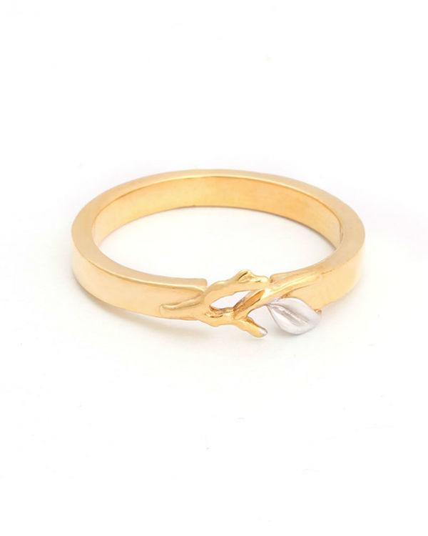 Soft Sapling Ring 1