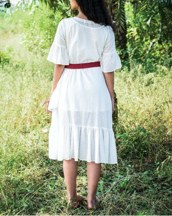 Dago ruffle dress 1