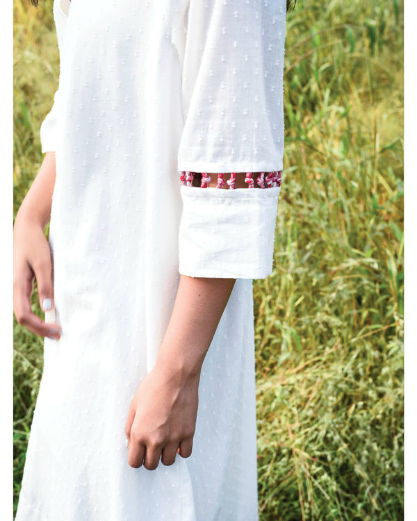 Flared ivory kurta and pants 2