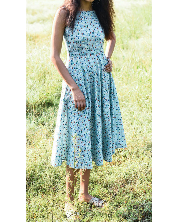 Sea foam maxi dress 2