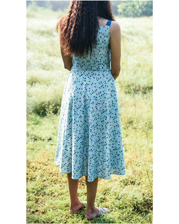 Sea foam maxi dress 1