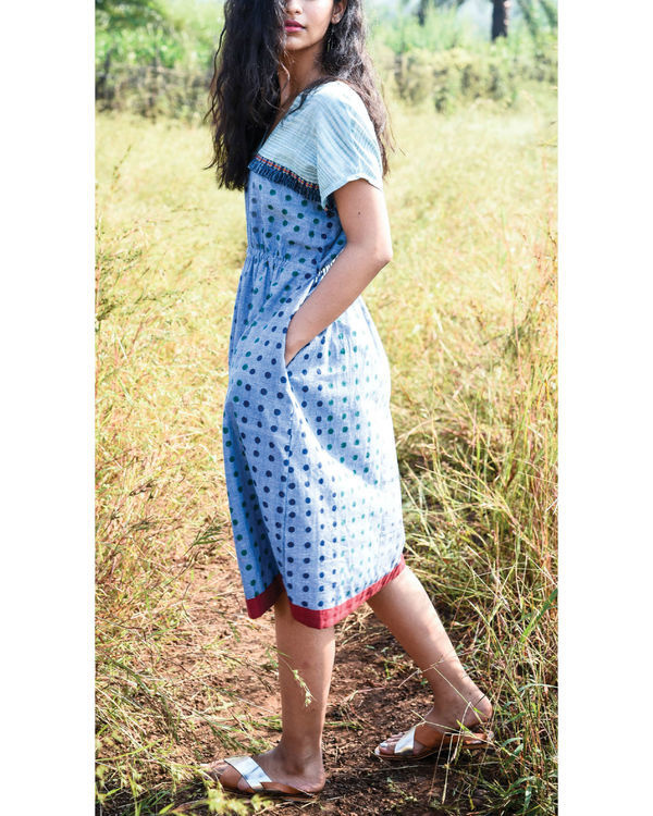 Siam blue jigme dress 2