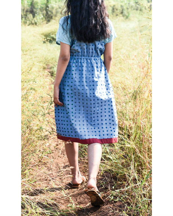 Siam blue jigme dress 1