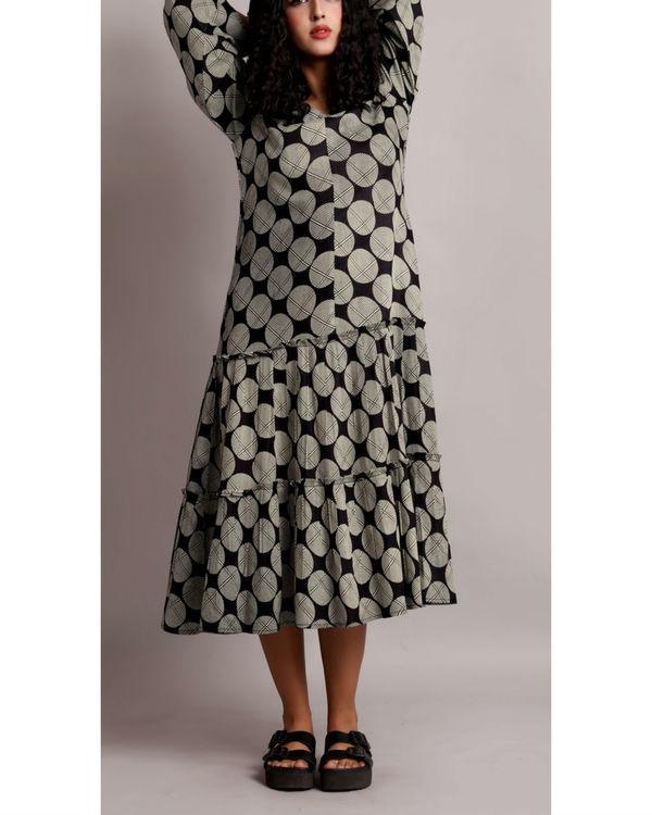 Black twin tier dress 3