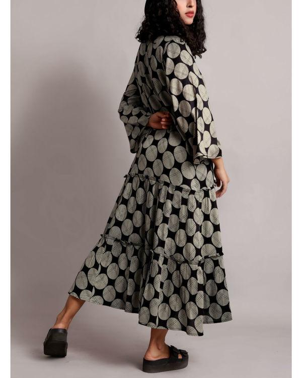 Black twin tier dress 1