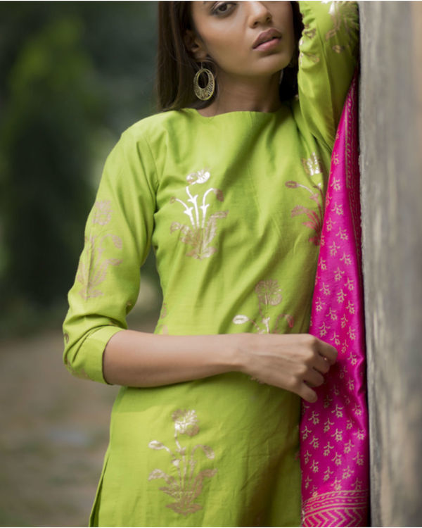 Tota maina kurta set with dupatta 3