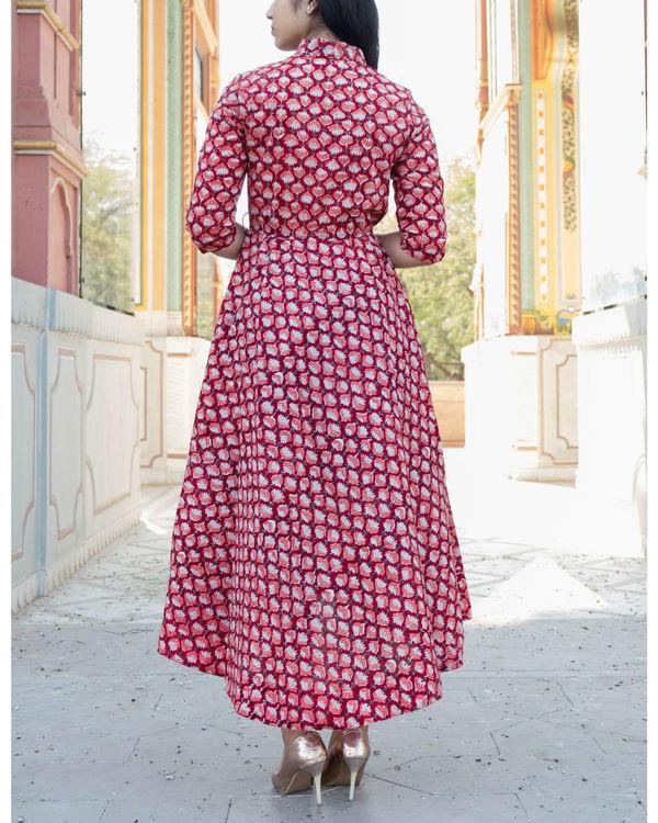 High low wrap around dress 1