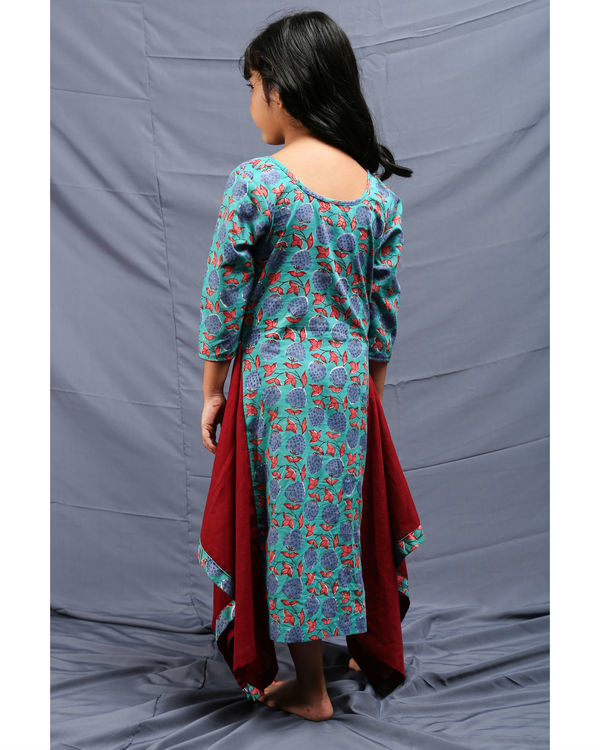Flared chowkdi dress 2