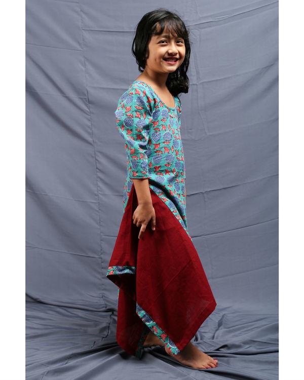 Flared chowkdi dress 1