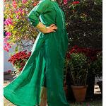 Thumb_leaf_green_kurta_cape_and_pants_-set_of_two_2