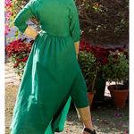 Thumb_leaf_green_kurta_cape_and_pants_-set_of_two_4