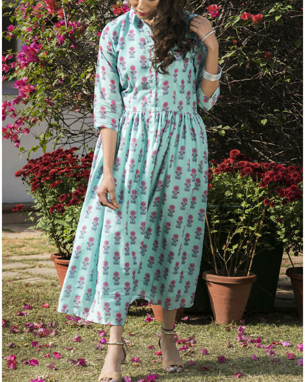 Aboli chanderi dress 2