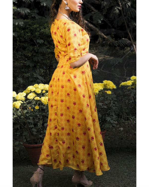 Aishi chanderi dress 1