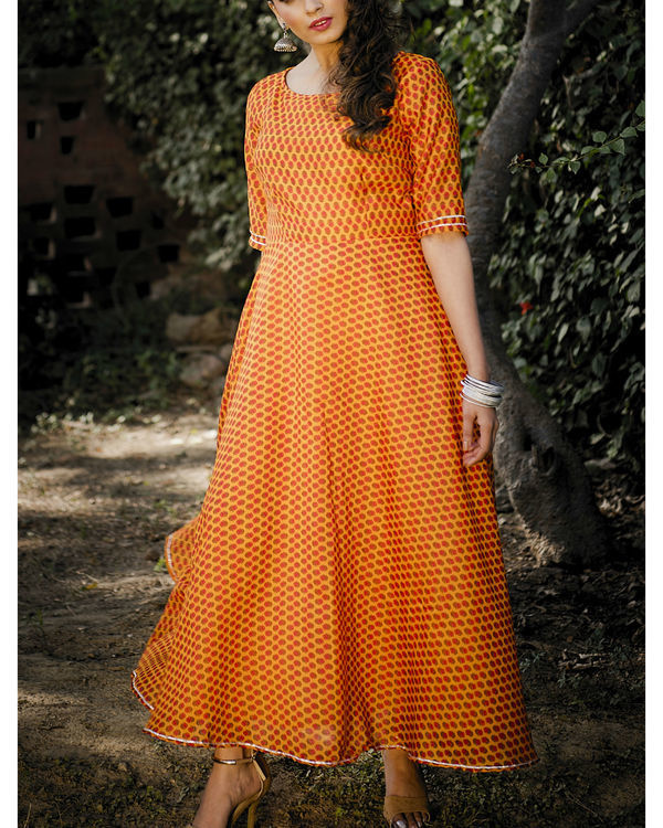 Amala chanderi dress 2