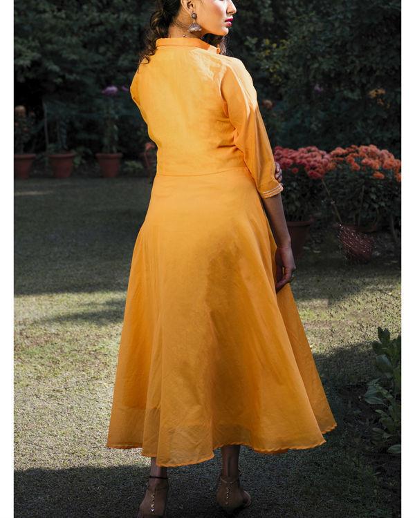 Akila chanderi dress 1