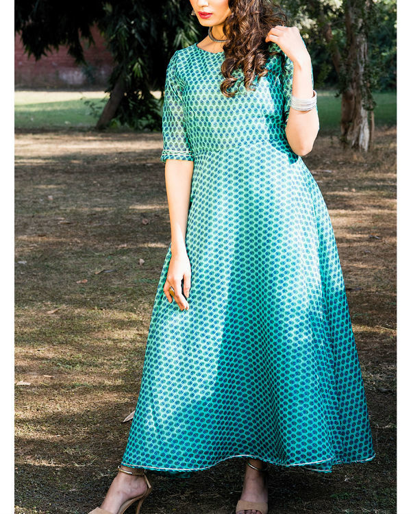 Shaon chanderi dress 2