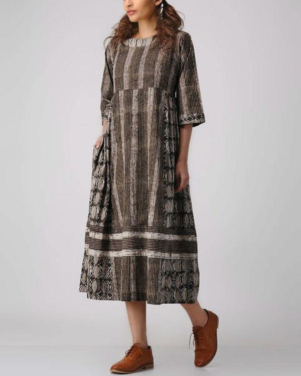 Shades of wood dress 3