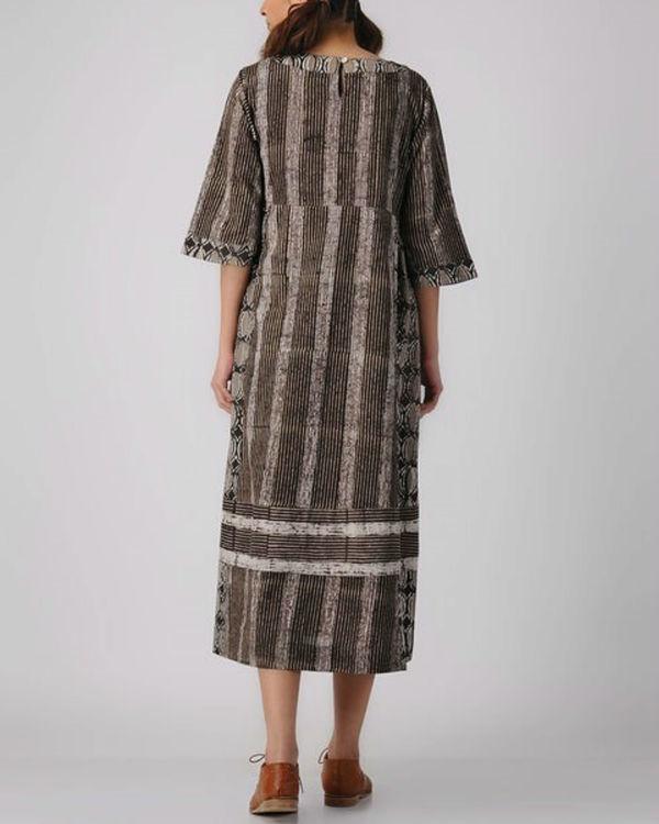 Shades of wood dress 2