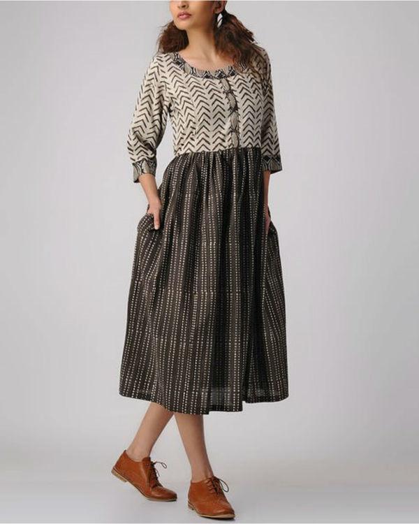 Classic combo dress 2